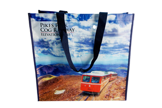 Beautiful RPET shopping bag for travel