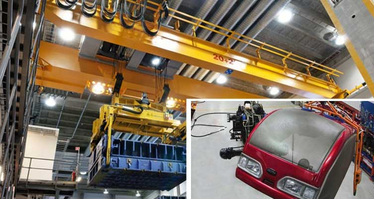 Overhead Cranes Designed For Automotive Industry