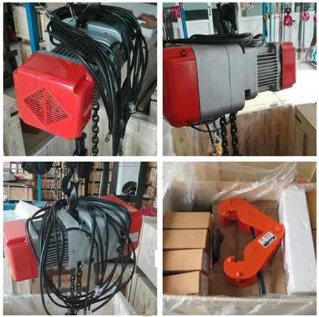 Electric chain hoist had been delivery to Nairobi