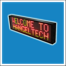 P7.62mm 16 Pixels Height Indoor Matrix LED Moving Message Display Sign