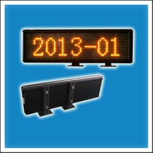 HTS-VW6x7.62-16XX Programmable LED Scrolling Message Sign Board for Windscreen