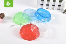 custom triangle PET plastic lid for cup