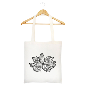 High Quality recycled cotton canvas tote printing bags for girls