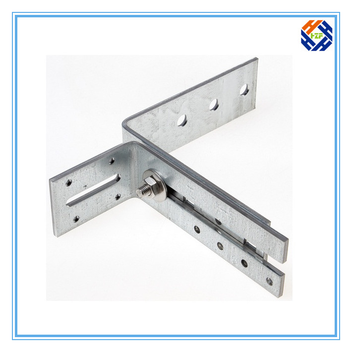 OEM Galvanized Stainless Steel Angle Bracket-3