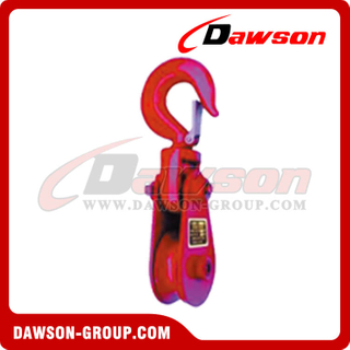 DS-B065 Champion Snatch Block With Hook