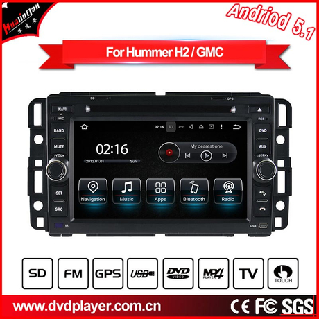 Android 7.1 car video for carplay Hummer H2 Audio dvd navigation car stereo