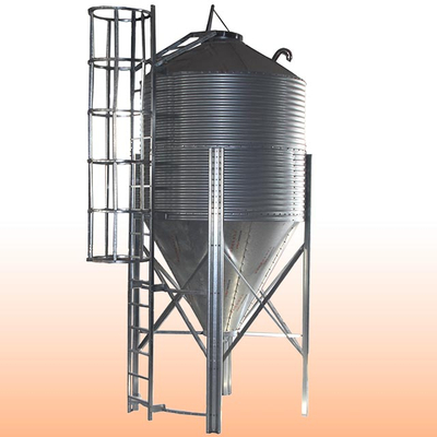 Steel tower silo