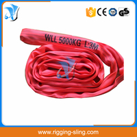 5T Polyester endless round sling