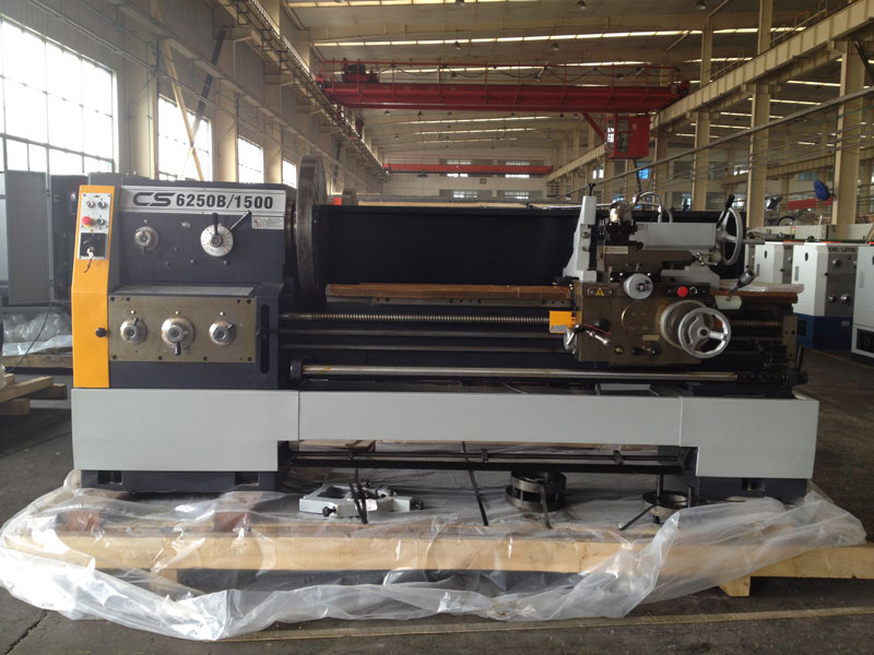 CS6266B Bochi Big Bore Horizontal Gap Bed Lathe Machine