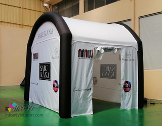 Sealed TPU Tube Inflatable Event Tent Marquee, Inflation Gazebo, Air Dome Rectangle Tent
