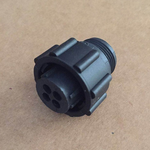 Circular Power plug Housing Connector 206060-1