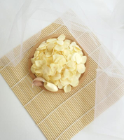 Different dried garlic flakes different price for different market
