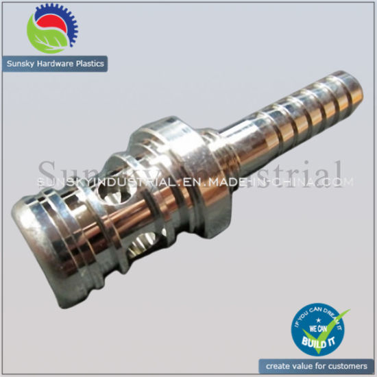 Precision CNC Steel Machining Turning for Chromed Connecting Rod (ST13012)