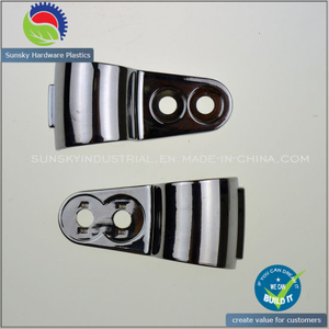 Chrome Plating Zinc Alloy Die Casting Clipping Part (ZN86016)