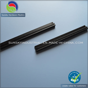 CNC Machining POM Delrin Black Slide for Fan Tray (EI0062)