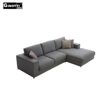 Small sectional corner chaise lounge sofa