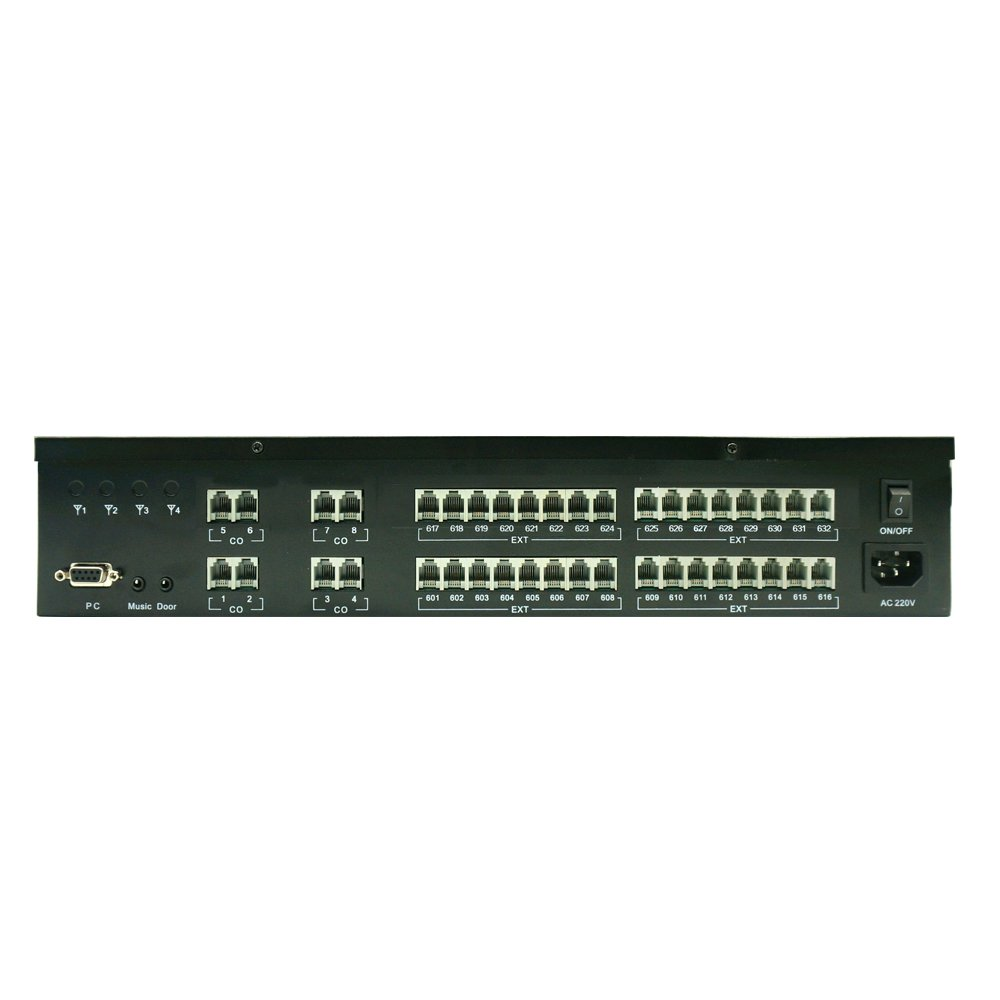 Intercom PABX System for Hotel PBX with low price (TP832 series)