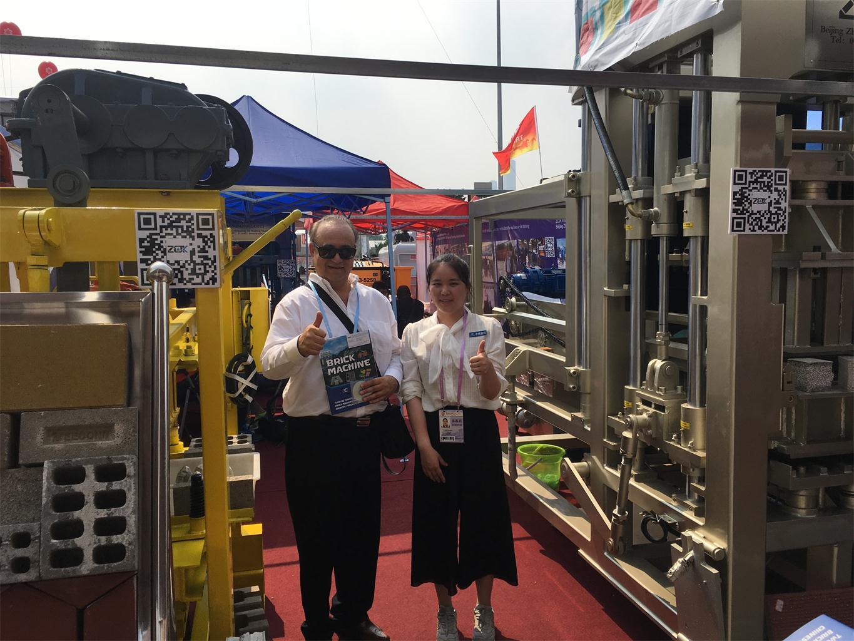 3rd day of Canton Fair-ZCJK Machine booth (1).jpg