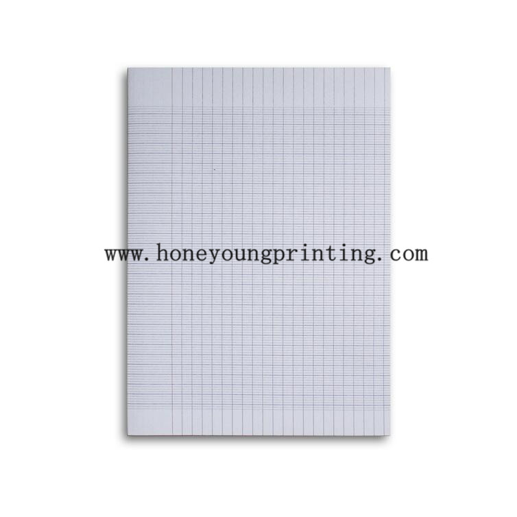 A4 ruled paper seyes grand carreaux and 5*5 square petits carreaux 50 sheets doubles 200pages copies doubles