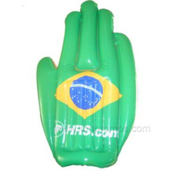 Sports Game Events National Flag Custom Printing Cheering Hand