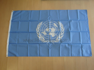 United Nation nylon Building Flag