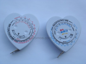 Medicine Health Care Promotional BMI Tape Measure