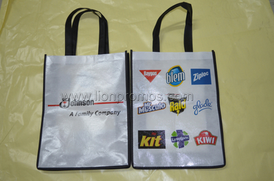 SC Johnson Promotional Gift Colorful Printing Laminated Non Woven Bag