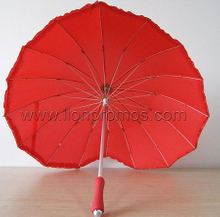 Heart Shape Wedding Decoration Gift Umbrella