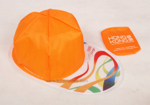 Custom Printing Cheap Gift Polyester Foldable Cap