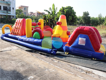 RB5210(8x2m)Inflatable Obstacle Course/ Multifunction Obstacle Course for sale
