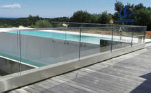 Pool Fence Glass Handrail System