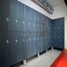 Phenolic Locker with Aluminum Structure