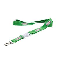 Custom badge holders lanyards with polyester material and print logo for personal