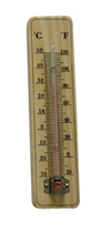 CF308-15 Wooden Thermometer