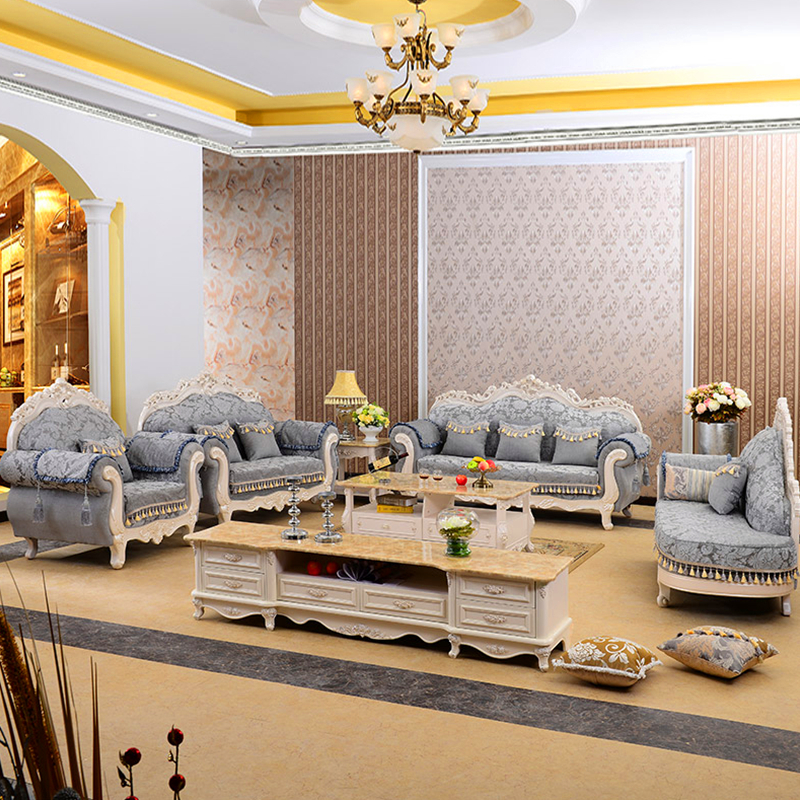 929Y Living Room Furniture with Fabric Sofa
