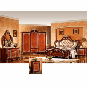 W815A Bed for Antique Bedroom Furniture Set and Home Furniture