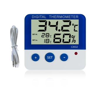 Digital Alarm Thermometer C602