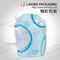 High Strength Material Standing Pouch with spout and Inflatable Handle