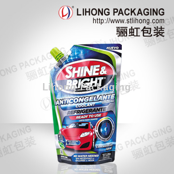 Screen Wash Liquid Detergent Standing Pouch