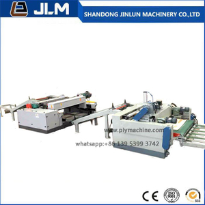 4 Feet Automatic Spindle Less Veneer Peeling Lathe Wood Peeling Line