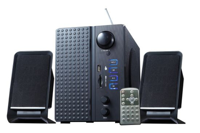 Multimedia Speaker Read USB Device, Support FM, Remote and Bass Button