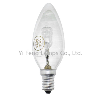 Eco Tw35 42W Energy Saving Halogen Bulbs, Twisted Candle