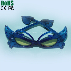 Spider-man plastic flashing led glasses