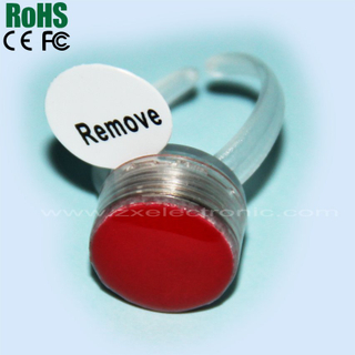 Hot Light Plastic LED Flashing Party Ring
