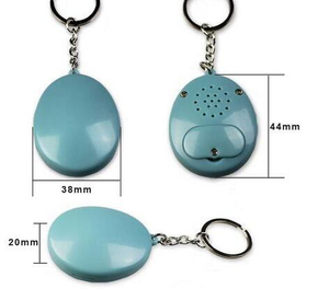 Hot Selling New Type Music Activate By Button Speaker Keychain