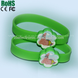 Very Beautiful Children Silicone Voice Record Bracelet