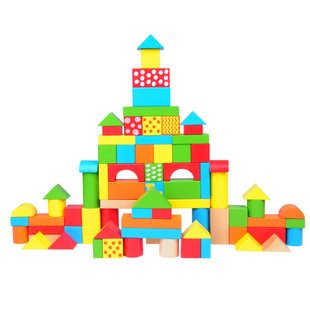 Kids Wooden Toy Blocks