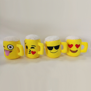 Promotion Gift Plush Toys Beer Cup Kids Toys