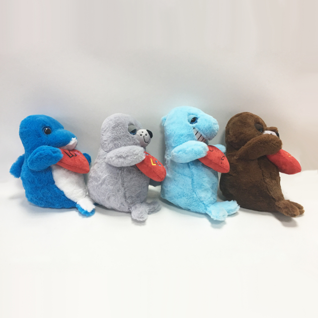 Sealife Assortment Plush Toys Stuffed Sea Animals