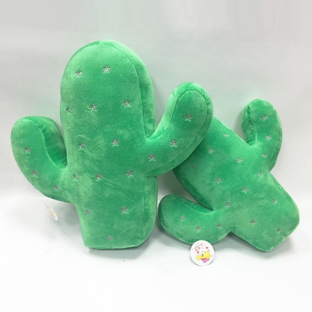 Flower Cartoon Plant Plush Toy Cactus Pillow